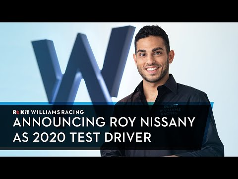 Announcing Roy Nissany as our Official Test Driver for 2020