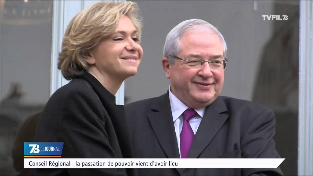 Politique : passation de pouvoir à la Région Île-de-France