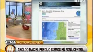 Aroldo Maciel predijo sismos en la zona ...