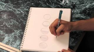 How to Draw the Phases of the Moon