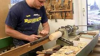 Seiffen Nutcracker Lathe Video