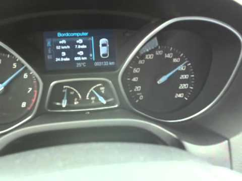 ford focus mk3 ecoboost 100 200km h youtube. Black Bedroom Furniture Sets. Home Design Ideas
