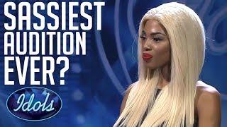 Sassiest Audition EVER? | Idols Global