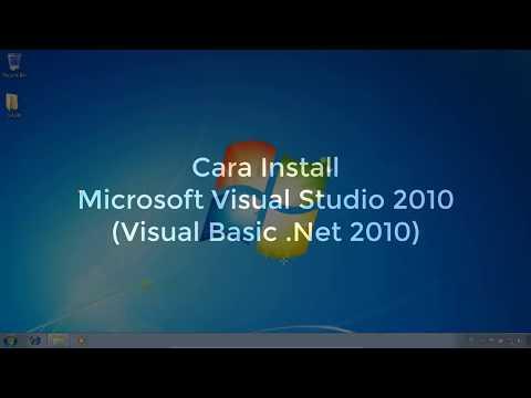 Cara Menginstal Aplikasi Visual Basic 2010