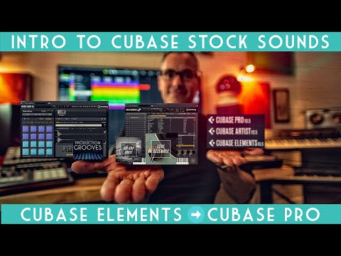 Intro to Cubase Stock Sounds: Cubase Elements 10.5 to Cubase Pro 10.5!