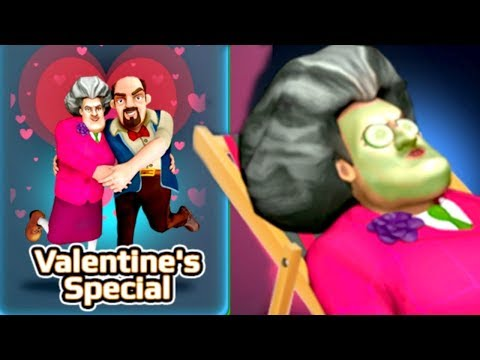 SCARY TEACHER 3D! SuperGlued - Valentine's Special [NEW UPDATE] Gameplay Walkthrough - Android - IOS