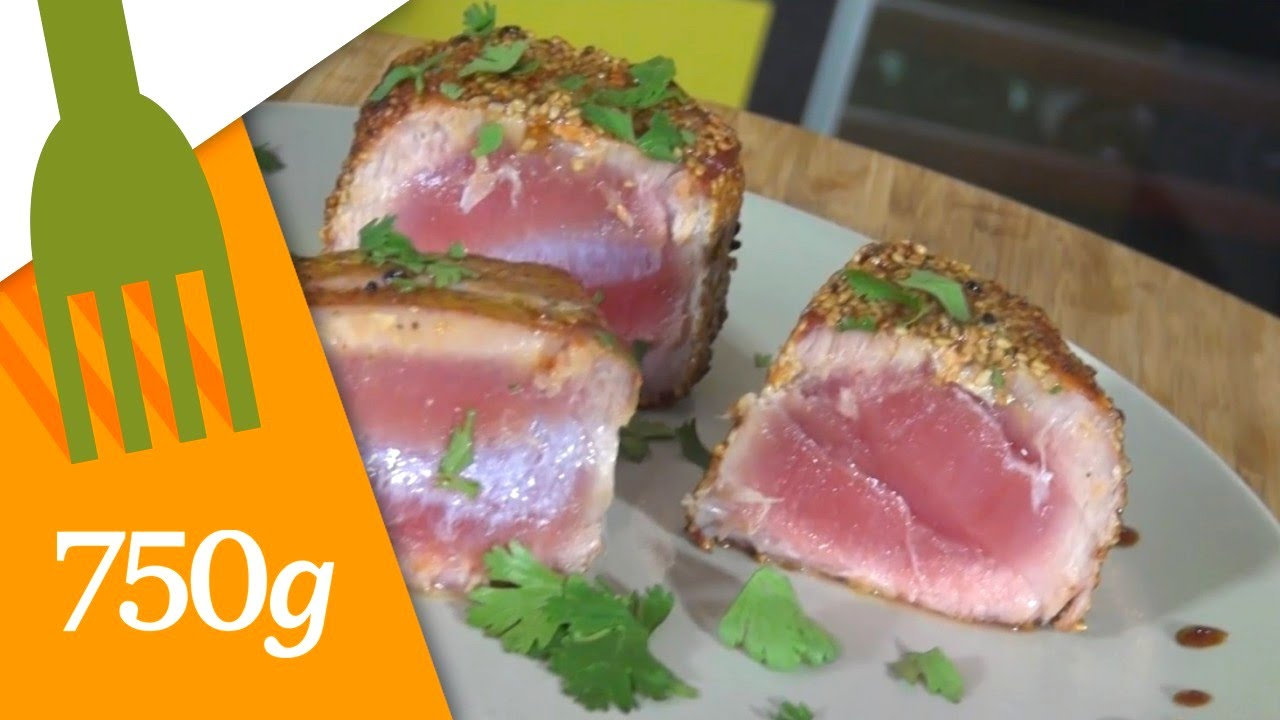 Recette De Steak De Thon 750g Youtube