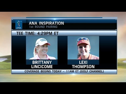 Morning Drive: Brittany Lincicome & Lexi Thompson Paired at ANA Inspiration 3/31/16 | Golf Channel