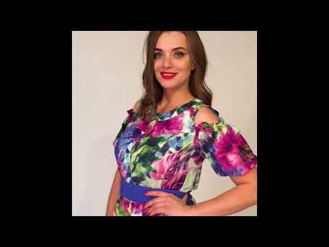 Платье из хлопка 955 размеры 44-48 LaKona белорусская одежда