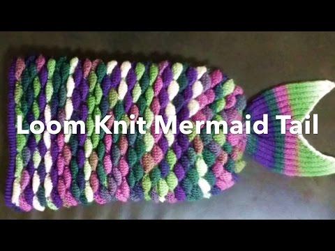 Knitting Patterns Mermaid Stitch Tutorial Funnydog Tv