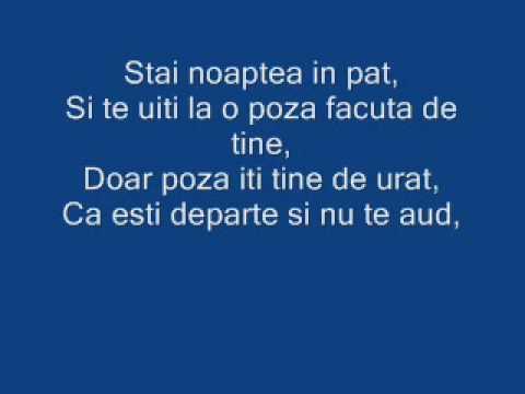 Chriss(justus) feat Allexandra  - Strig spre tine (lyrics)
