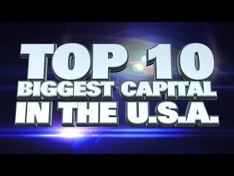 10 biggest state capitals in America 2014