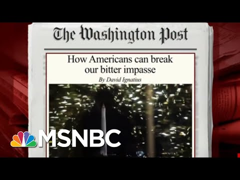 How To Escape The Bitter Political Impasse | Morning Joe | MSNBC
