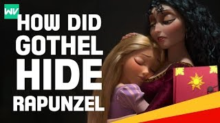 How Did Mother Gothel Hide Rapunzel & Her Tower? | Tangled Theory: Discovering Disney