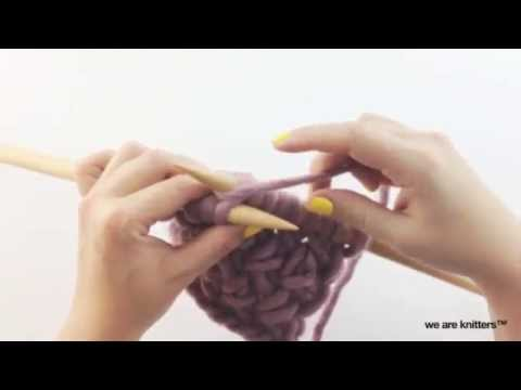 how to knit cross stitch we are knitters youtube. Black Bedroom Furniture Sets. Home Design Ideas