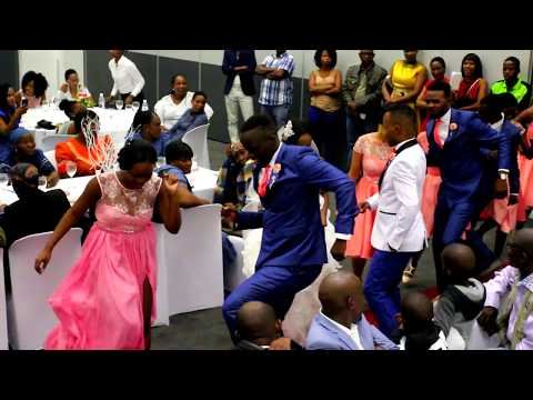 CALVIN SIBISIBI AND TEBOGO IIBOTSWANA WEDDING STEP DANCE  CHORIOGRAPHY II 71437842