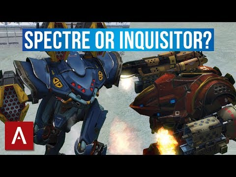 War Robots Robot Guide 2018: Inquisitor or Spectre | Which is the Best Robot?