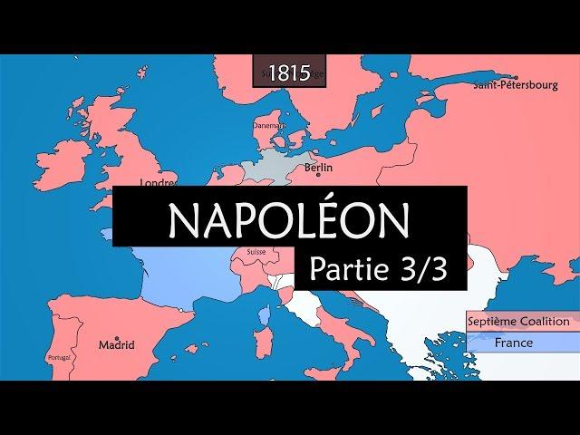 Napoléon (Partie 3) - Le déclin (1812 - 1821)