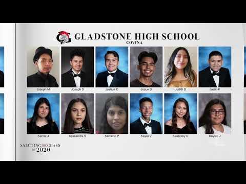 Saluting The Class Of 2020 —Gladstone High School   NBCLA
