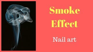 Smoke Effect Nail Art | Nicol Nails