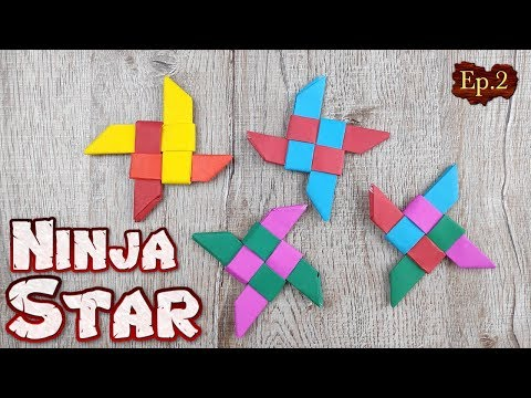 Origami Ninja Star Toys | How To Making Easy Star Paper Tutorial | Handmade DIY Weapons Paper Crafts