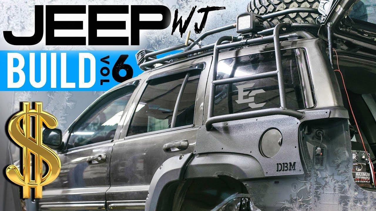 ea8e2ee46a9 JEEP WJ OFFROAD BUILD EP. 6: PARTS OVERVIEW & POLAR VORTEX - YouTube