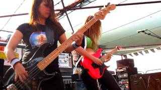The Iron Maidens - Back In The Village (LIVE @ Santa Fe Springs Swap Meet 9-17-11)
