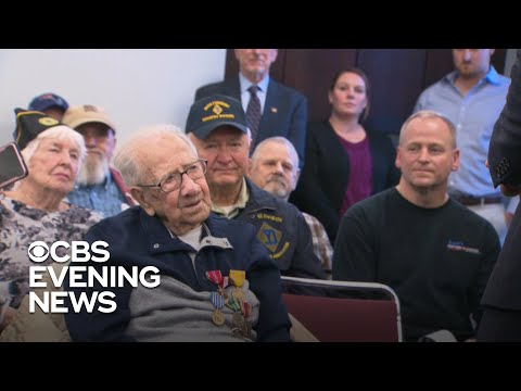 Veteran finally gets the recognition he deserves