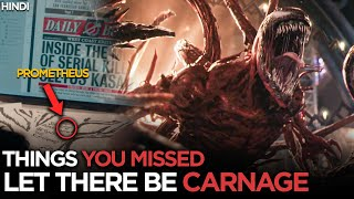 VENOM: LET THERE BE CARNAGE - Official Trailer Breakdown & Things You Missed   Easter Eggs HINDI