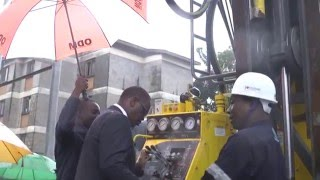 GOVERNOR KIDERO LAUNCHES A 144 CUBIC METERS BORE HOLE PROJECT IN NYAYO HIGHRISE