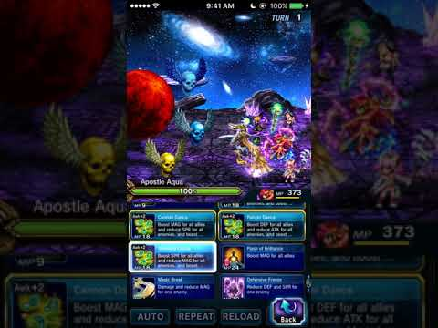 FFBE - The Tortuous Trio Full Clear (No Escape)   No owned 5* or TMRs