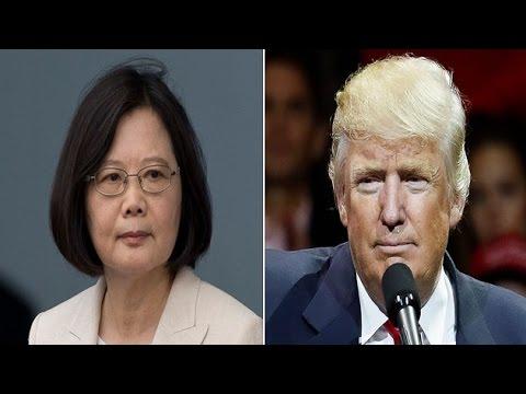 Trump speaks to Taiwan leader, breaks US policy stance