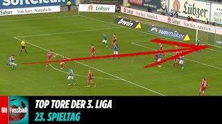 Distanz-Hammer beim Hansa-Sieg | Top Tore vom 23. Spieltag | 3. Liga