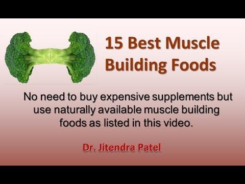 Health Videos: 15 best muscle building foods.