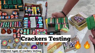 Cheapest Diwali crackers Testing | Crackers Stash | Testing different types of crackers 2019