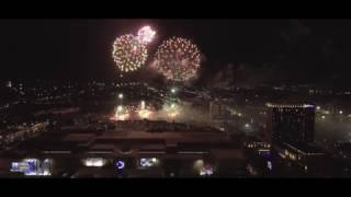 Sinulog 2017 SM City Cebu Pyro Spectacular Fireworks Display