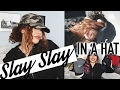 How to SLAY in your Hat! Easy Hairstyles for Hats