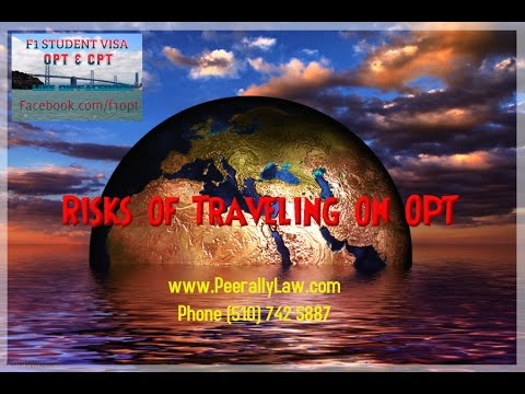 Traveling overseas with pending H1B/OPT  Risk of Traveling Under F1 OPT