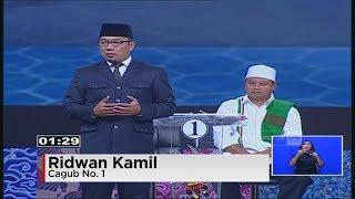 Debat Final Pilgub Jabar Segmen 5 : Budaya & Pariwisata