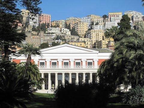 Places to see in ( Naples - Italy ) Villa Pignatelli