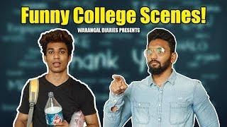 Funny College Scenes ft. Pichi Yakuu | Warangal Diaries