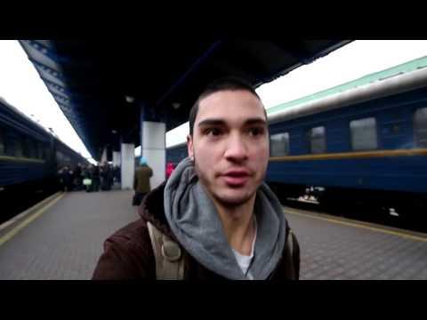TRAIN TRAVEL IN UKRAINE | Kiev to Odessa (3RD CLASS)