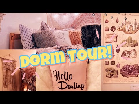 COLLEGE DORM ROOM TOUR 2018! | Grand Valley State University