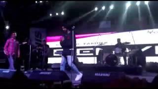 diljit dosanjh live at hansraj college delhi university by fb romyabhishek instagram romy dabas