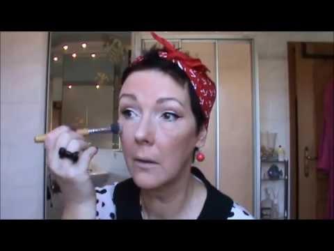Mein 50er Jahre Make Up Viel Spaß Youtube