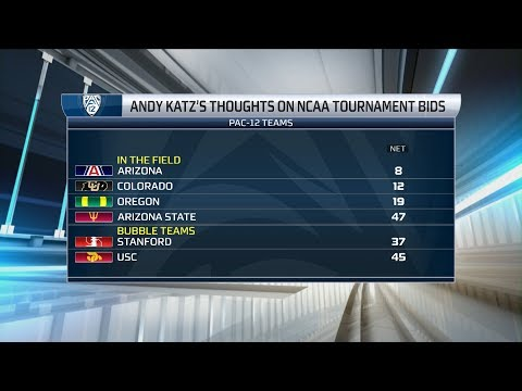 Andy Katz: Four Pac-12 Teams In NCAA Tournament If March Madness Started Today