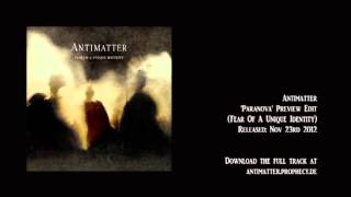 Antimatter - Paranova [preview excerpt]