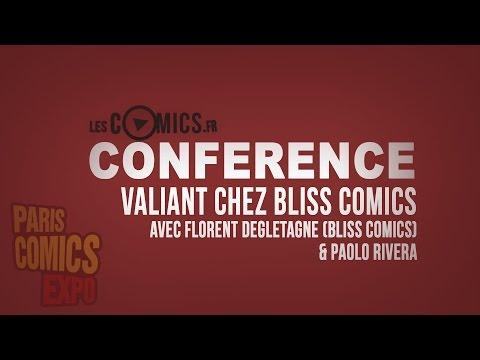 [PCE 2016] Conférence Bliss Comics