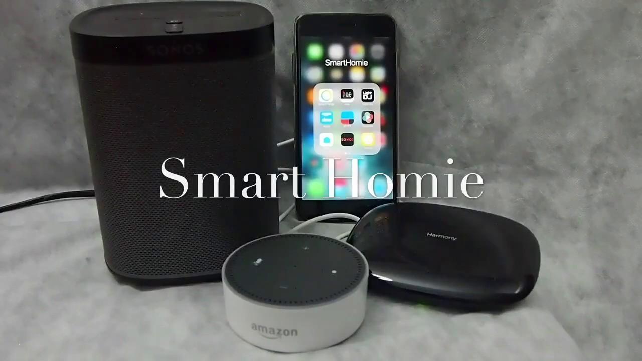 4c291b14cdf How to setup voice control on Sonos speaker using Amazon Echo / Alexa + Logitech  Harmony Hub