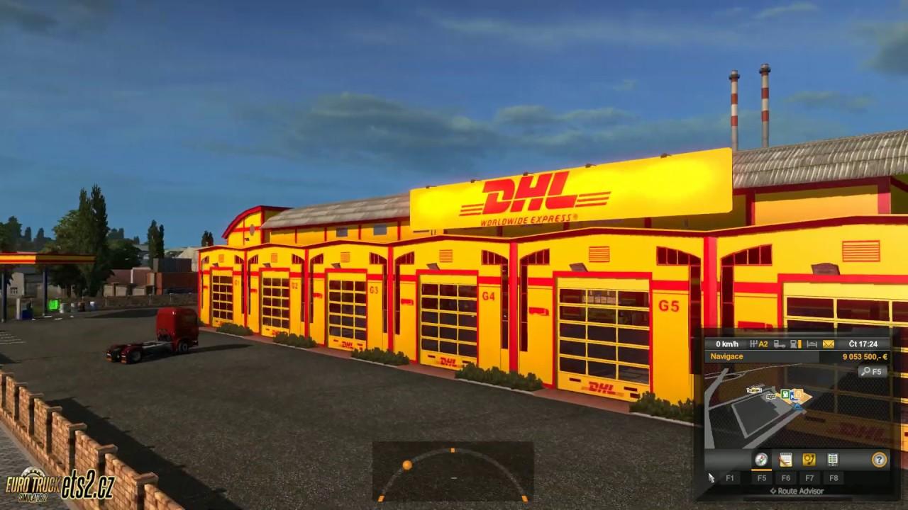 [ETS2] DHL Garage skin